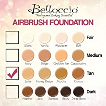 Belloccio Airbrush Make Up Tan