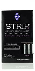 4 ct Capsules strip detox cleansing fast pass test omni safe quick flush effective women men body