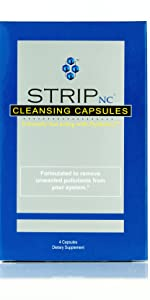 4 ct Capsules strip cleanser omni detox fast easy quick flush pass test men women clean health loss