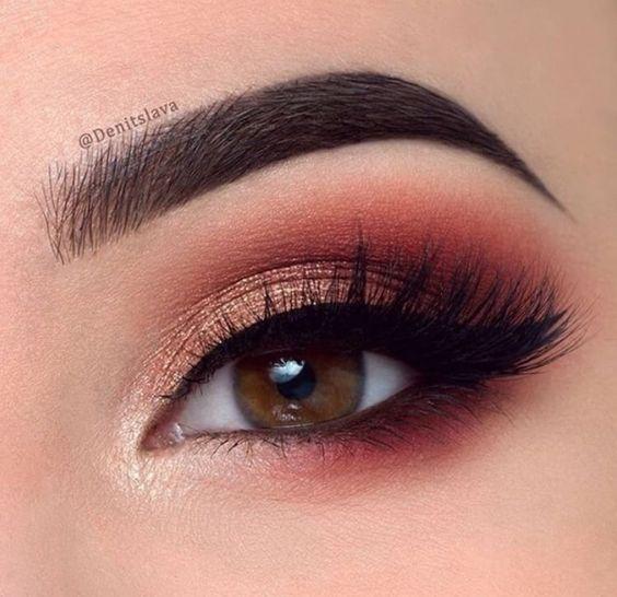 natural eyeshadow looks for brown eyes