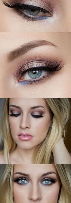 Trends : Top makeup ideas for brown hair blue eyes