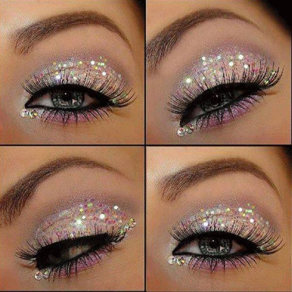 shimmer eye makeup ideas