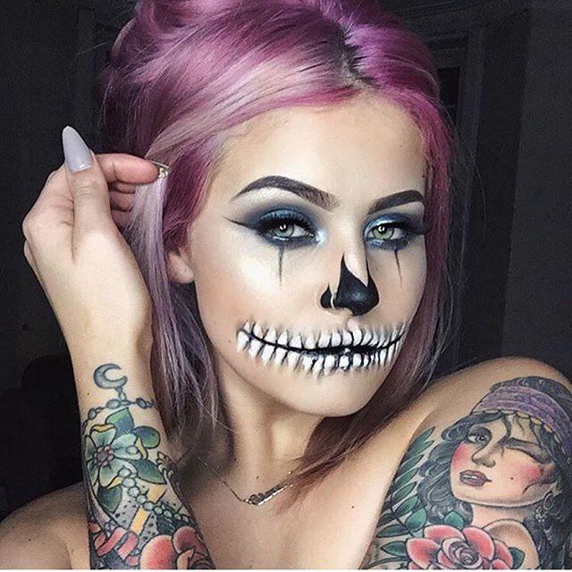 Makeup trends : Best halloween face makeup ideas for adults