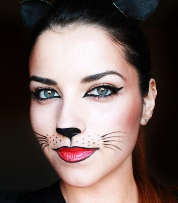 cat costume makeup easy