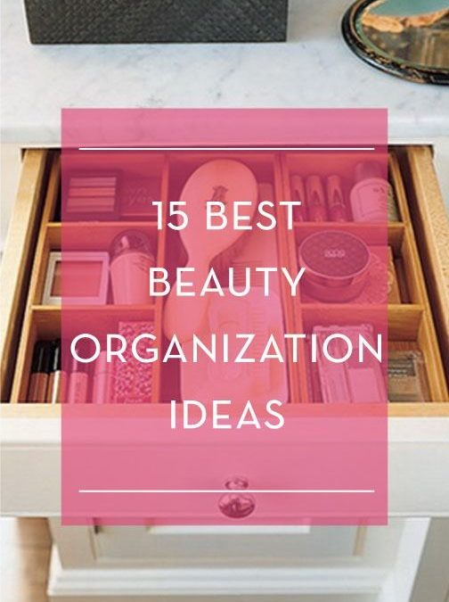 Collection : 22 Best makeup storage ideas pinterest