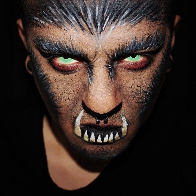 sexy big bad wolf makeup ideas