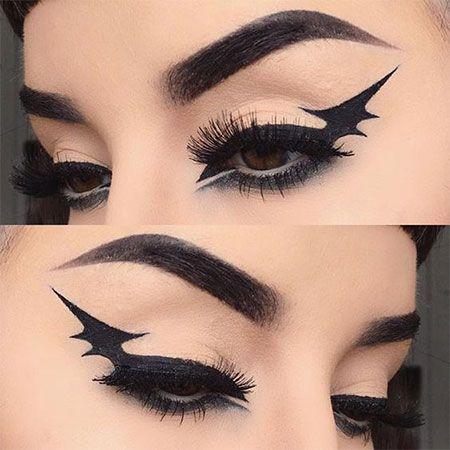 Makeup trends : Best cool eye makeup ideas for halloween