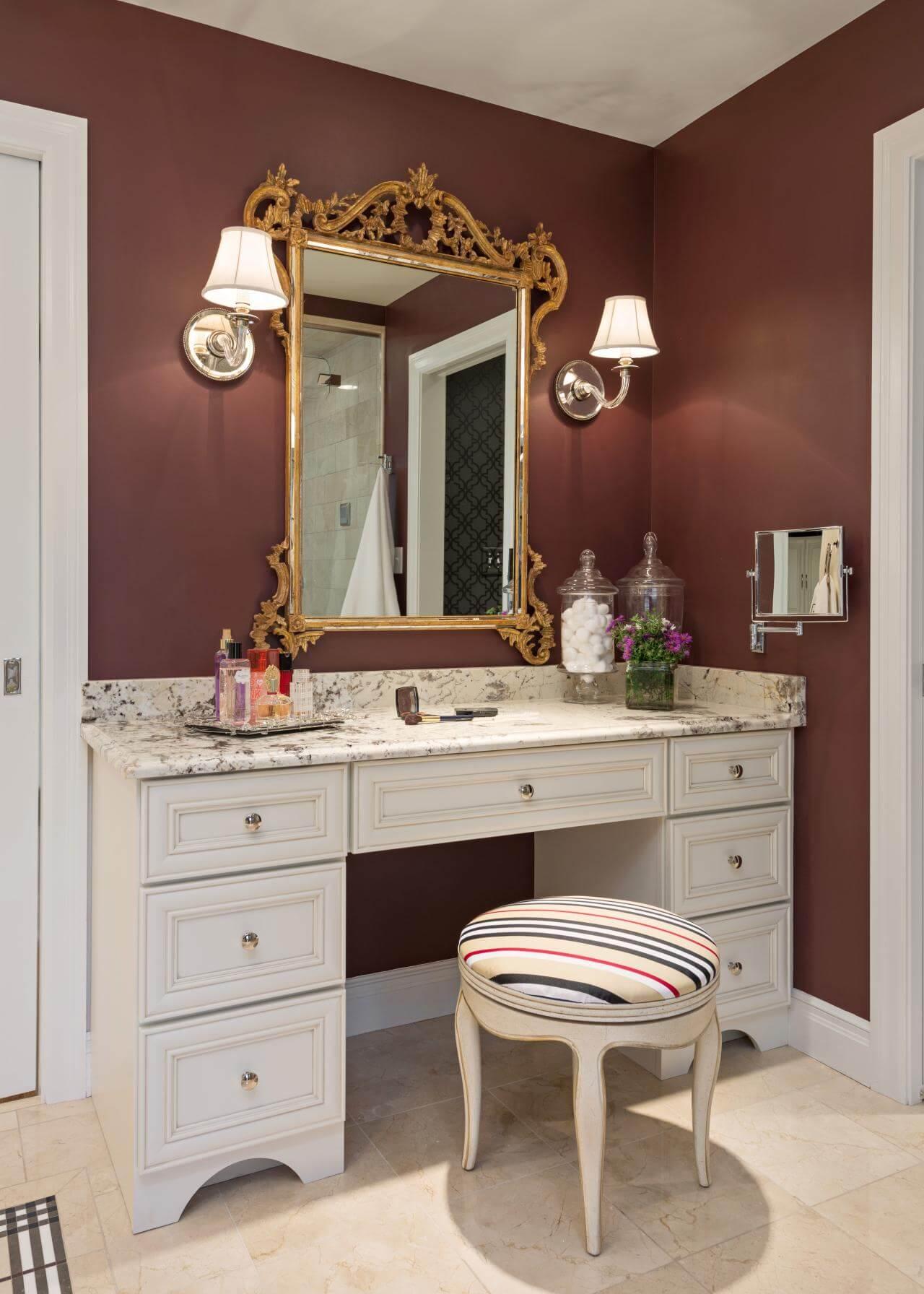 diy ideas for makeup vanity