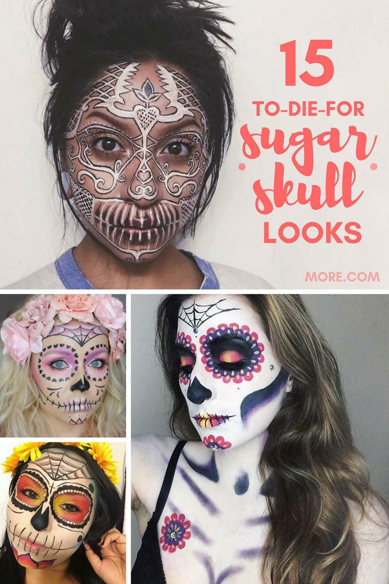 day of the dead mens makeup ideas