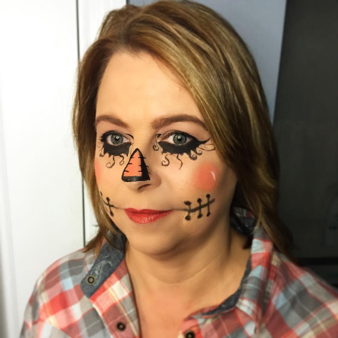 scarecrow ideas makeup