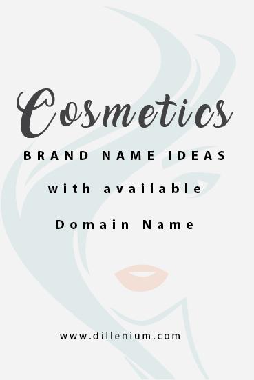 Makeup inspiration : Best ideas for makeup artist business names