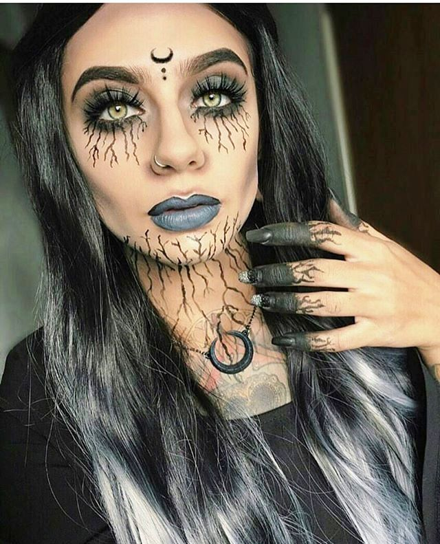 witch makeup ideas easy