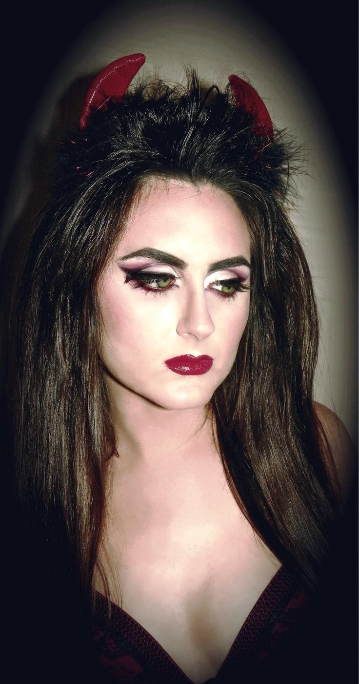 devil makeup ideas for halloween