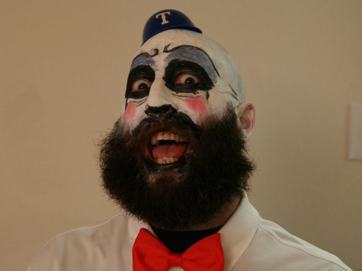 Collection : Best halloween makeup ideas for guys with beards