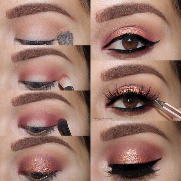 Trends : 19 Best eye makeup easy step by step