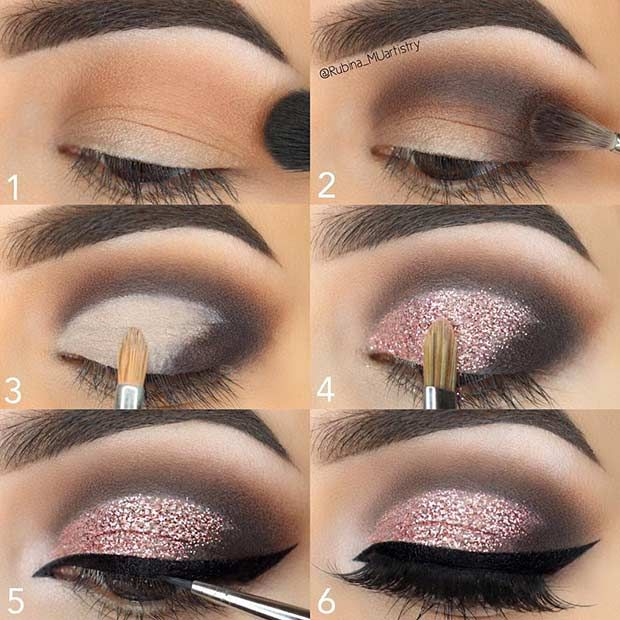 Collection : Best shimmer eye makeup ideas