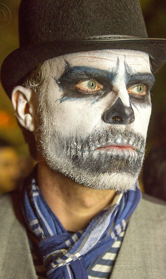 halloween makeup ideas for guys with beards