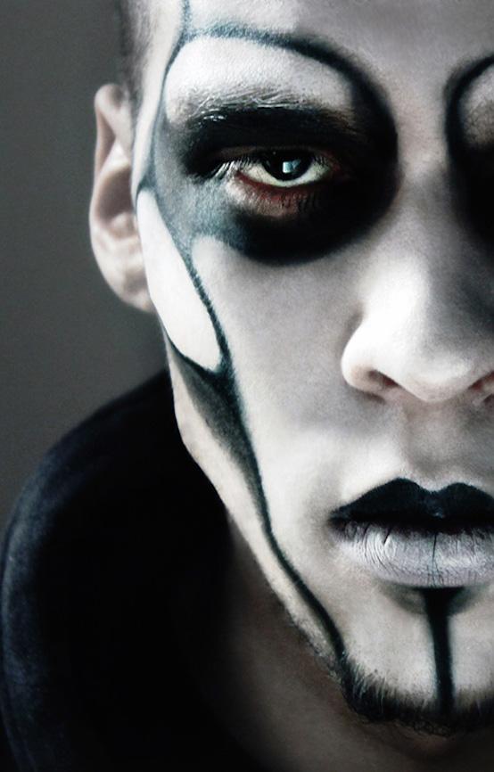 easy halloween makeup ideas for guys