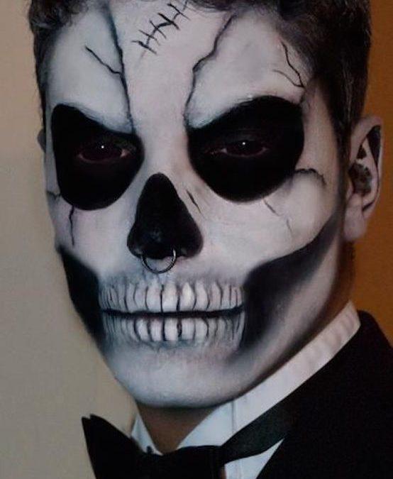Makeup trends : Best scary halloween makeup ideas for guys