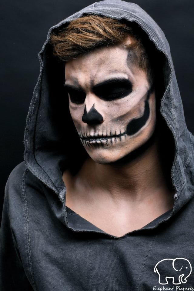 scary halloween makeup ideas for guys