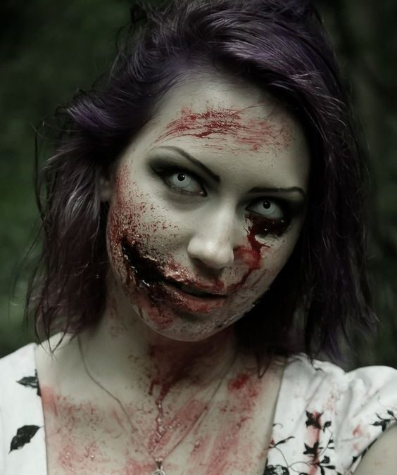 Makeup trends : 23 Best zombie makeup ideas pictures