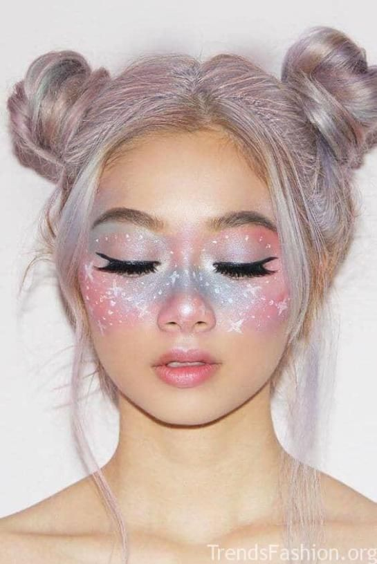 unicorn face makeup ideas