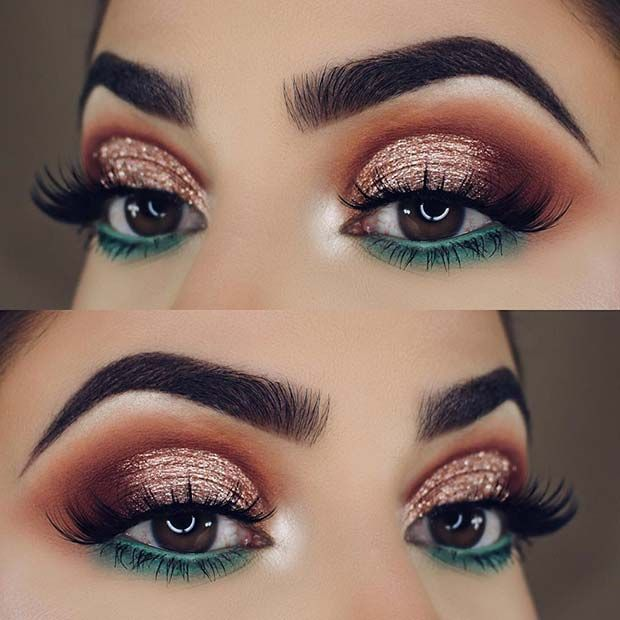 makeup ideas for christmas