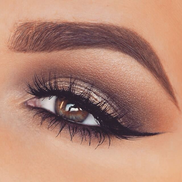 Makeup inspiration : Best formal eyeshadow ideas for brown eyes