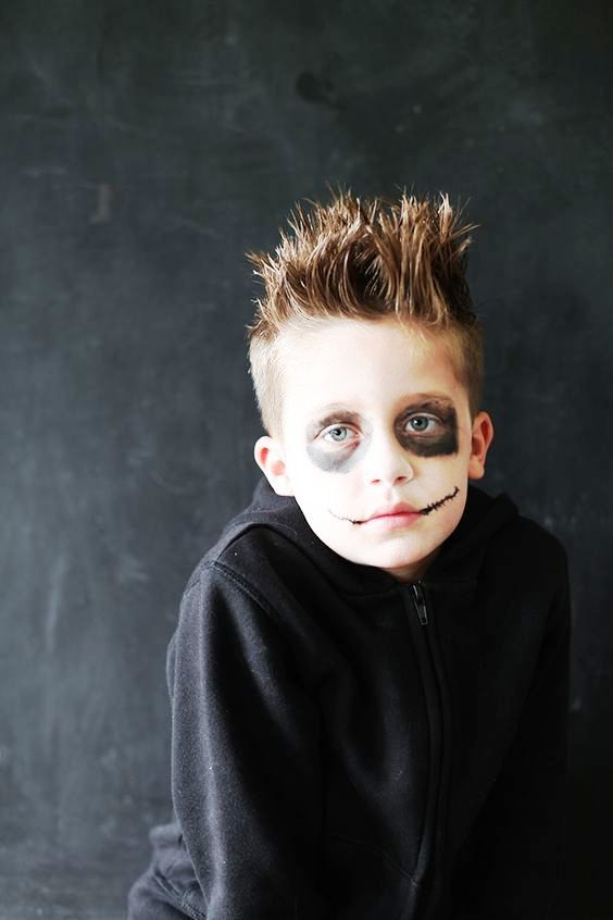 makeup ideas for halloween for guys