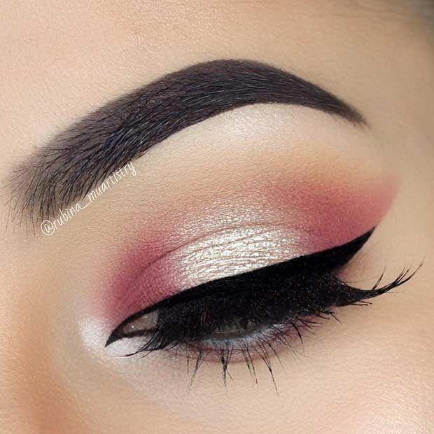 simple eye makeup ideas for school