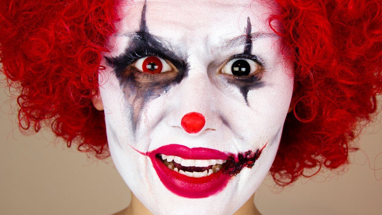 clown makeup ideas male