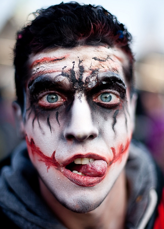 scary makeup ideas for guys