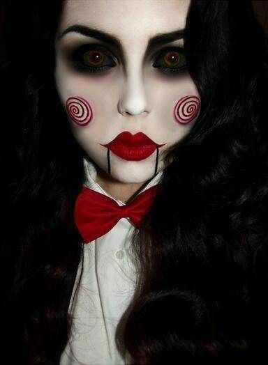 Makeup inspiration : Best scary makeup easy to do