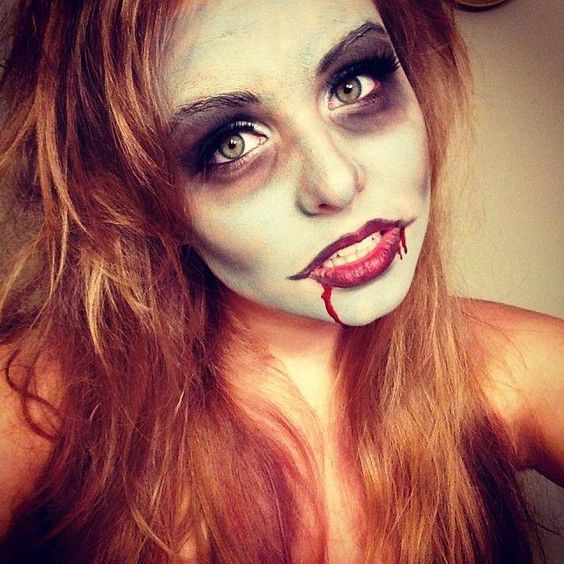 zombie makeup ideas pictures