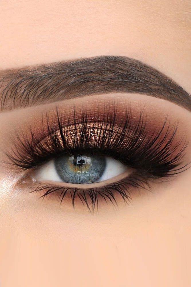 bridal makeup ideas for blue eyes