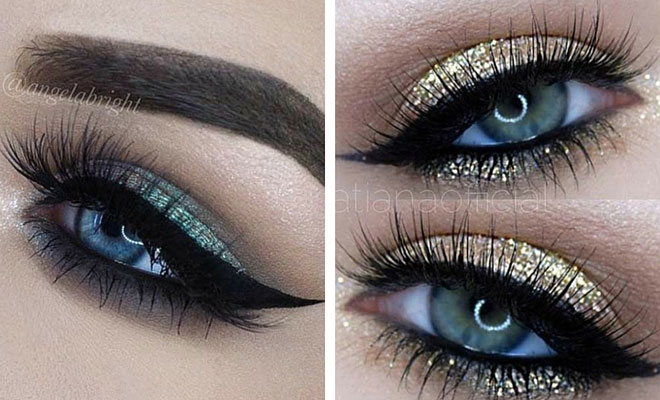 simple makeup ideas for blue eyes