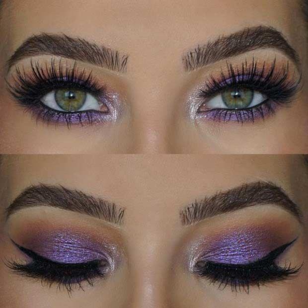 best makeup ideas for green eyes
