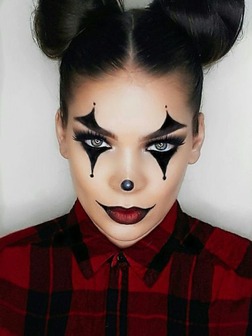 Collection : Best scary easy makeup for halloween