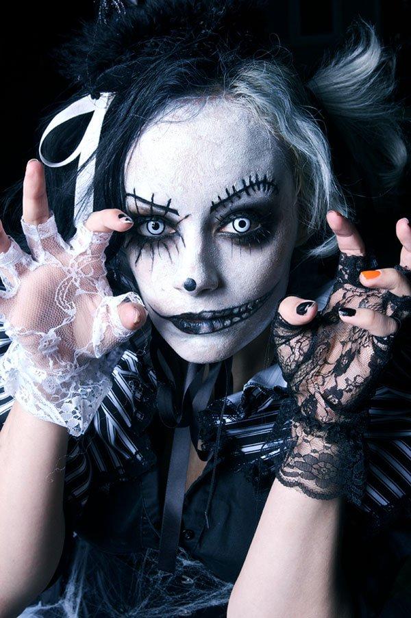crazy makeup ideas for halloween