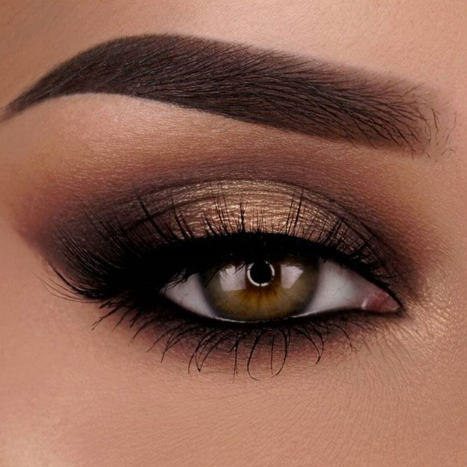 easy prom makeup ideas for brown eyes