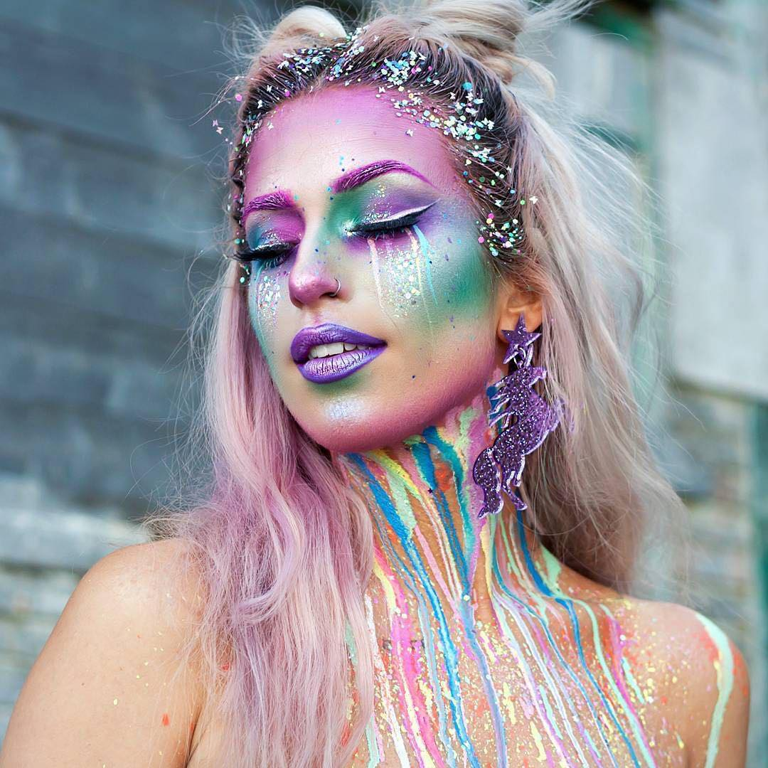 unicorn costume makeup ideas
