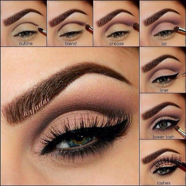 eye makeup easy step by step