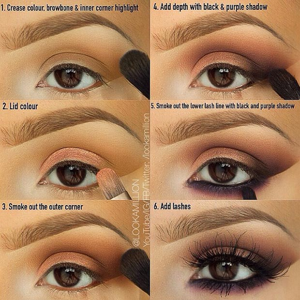 eye makeup ideas for over 40s brown eyes