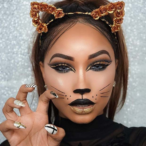 cat makeup ideas easy