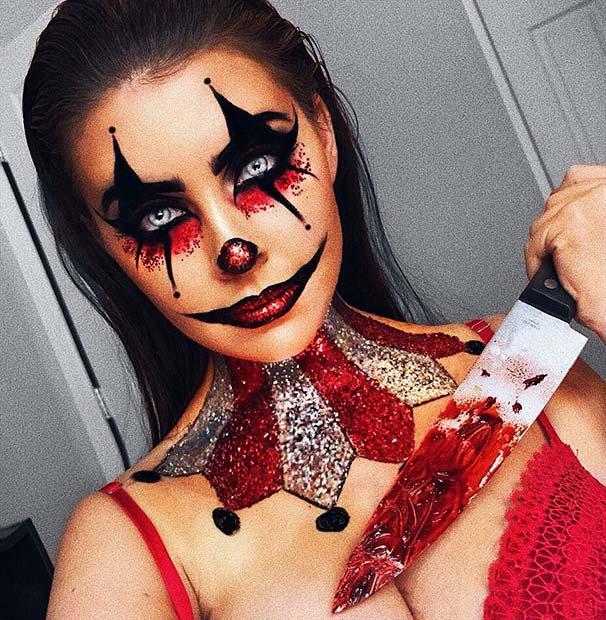 serial killer makeup ideas