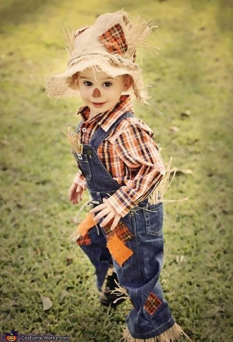 Ideas : Best scarecrow makeup ideas for my 2 yr old