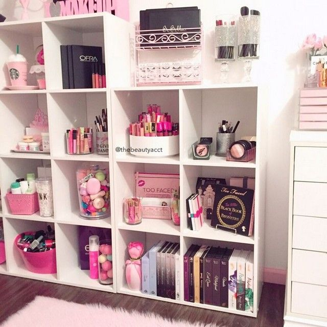 diy makeup storage ideas for small spaces