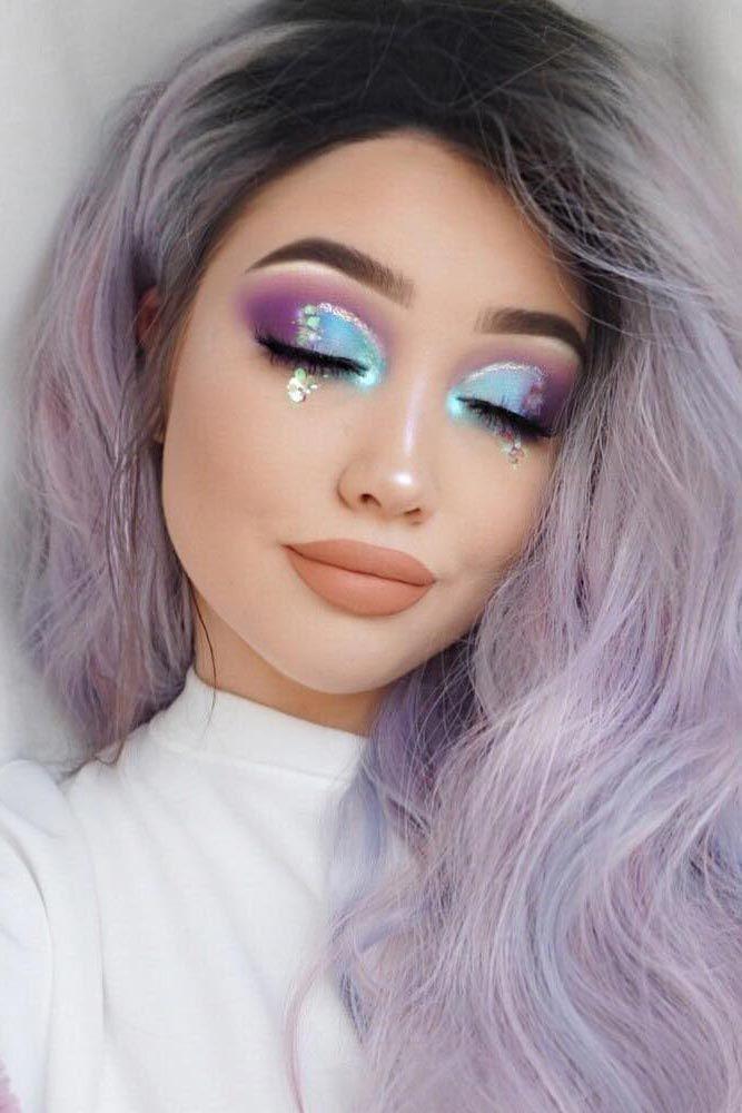 simple unicorn makeup ideas