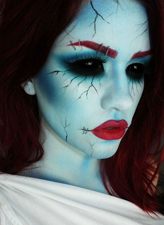 makeup ideas for halloween 2020