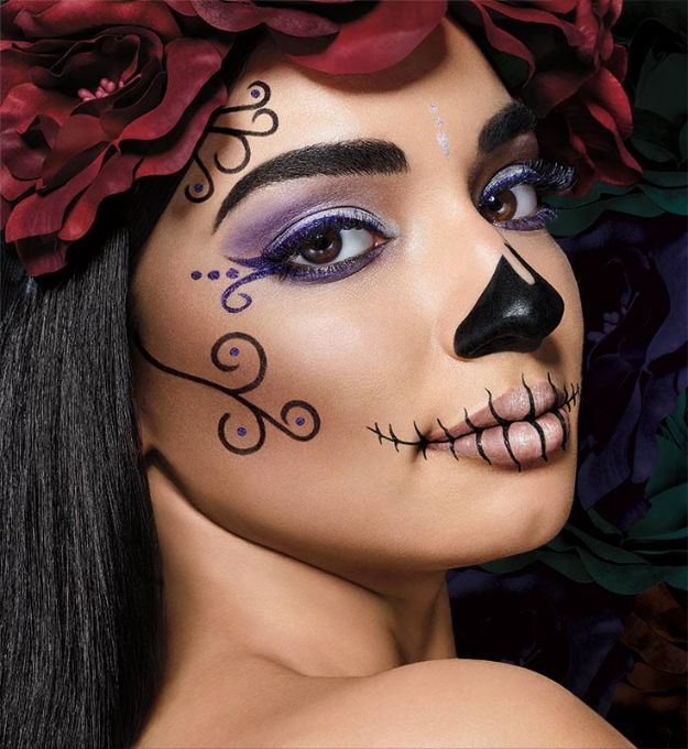 cute easy makeup looks for halloween